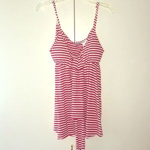 Striped Red and White Cami